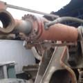 HITACHI ZW 250 LOADER BUCKET LEAF (DRILLER) RUNNING FROM THE MACHINE