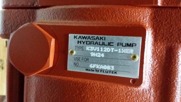 K3V112DT HYDRUALIC PUMP ASS'Y ( FLUTEK KAWASAKI )   Bermak İş